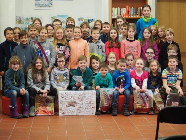 Hořovická knihovna pořádá každoročně soutěž Lovci perel. Slavnostní vyhlášení vítězů se uskutečnilo 1.2.2019.